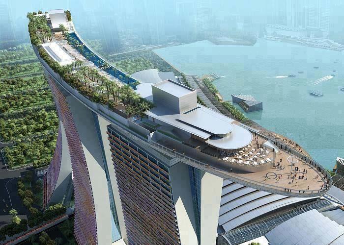 Sands SkyPark - Marina Bay Sands Singapore