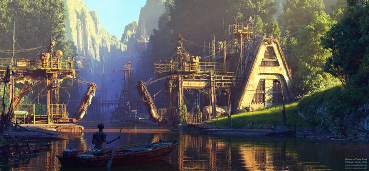 Return to Prime Even, created by Marek Denko using 3Ds Max and VRay.