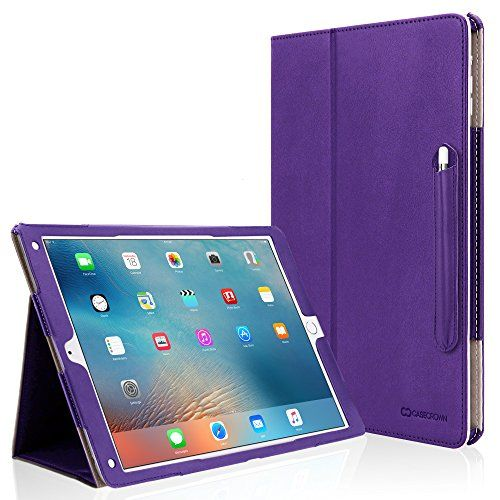 iPad Pro Case [Corner Protection], CaseCrown Bold Standby Pro (Purple) w/ Apple Pencil Holder, Sleep / Wake, Hand Grip, & Multi-Angle Viewing Stand CaseCrown http://www.amazon.com/dp/B017I2RSDY/ref=cm_sw_r_pi_dp_2bowwb0EPW1QE