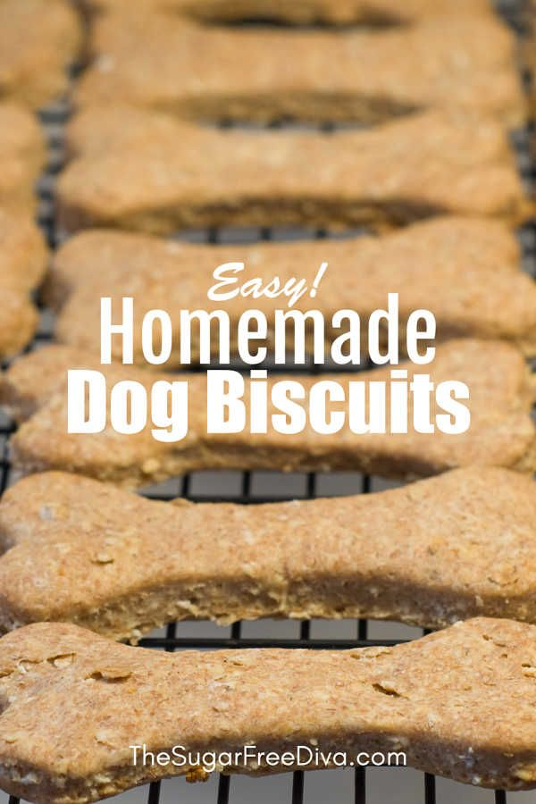 Easy Homemade Dog Biscuits That Are Made From All Natural
