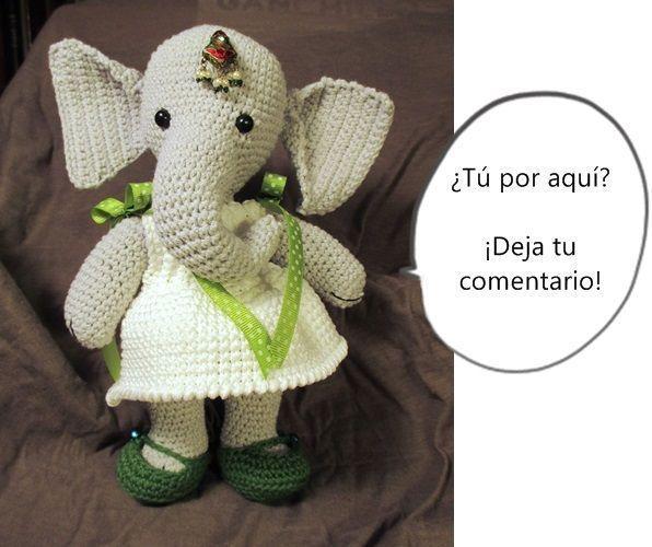 Infanta Elefanta Patrón Gratis Despedida