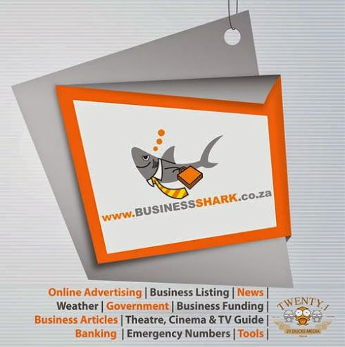 Get Your Business Listed on Business Shark SA Directory for free Social Media Promotion. Click Here: http://businessshark.co.za/contact-us.php