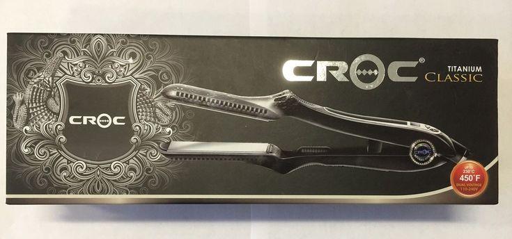 Turboion Croc Titanium Flat Iron