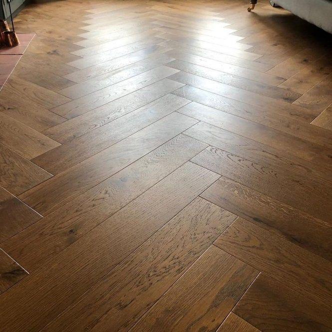 Hampton Herringbone 14mm Parquet Engineered Flooring Oak Cognac Matt Lacquered Flooring The Hamptons Hardwood Floors