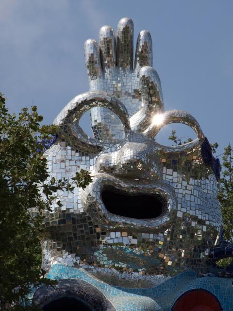 Niki de Saint Phalle sculpture