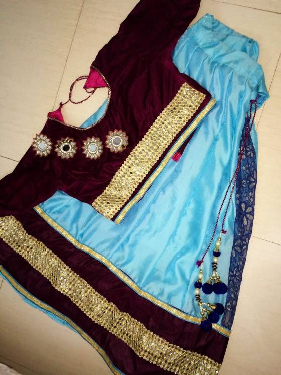 Buy designer lengha Online Vapi at Low Prices in India - Shopo.in