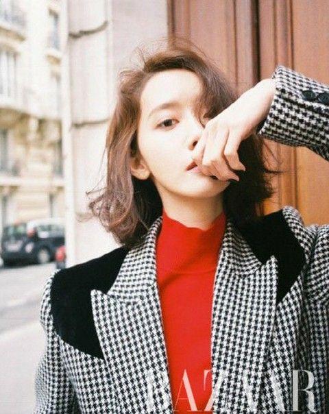 少女時代 ユナ、画報公開。Harper's BAZAAR Korea。