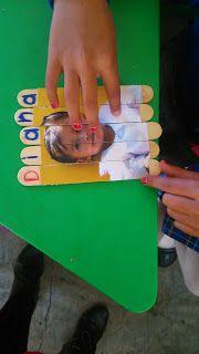 """Proyectos educativos ¡Y más!: Actividad para iniciar la lectoescritura """"Yo soy""""."""