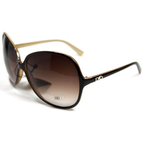 DG26 Style 1 DG Eyewear Designer Vintage Oversized Women`s Sunglasses ♥