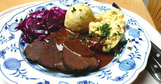 Aus dem Crockpot: Sauerbraten