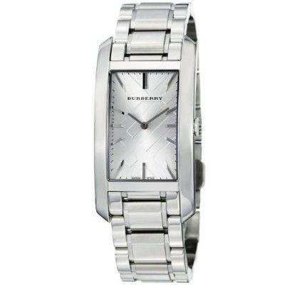 Relógio Burberry Women's BU9400 Heritage Stainless Steel Bracelet Watch #Relogios #Burberry