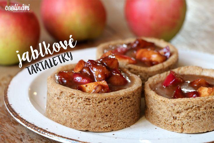 Jablkové tartaletky so slaným karamelom