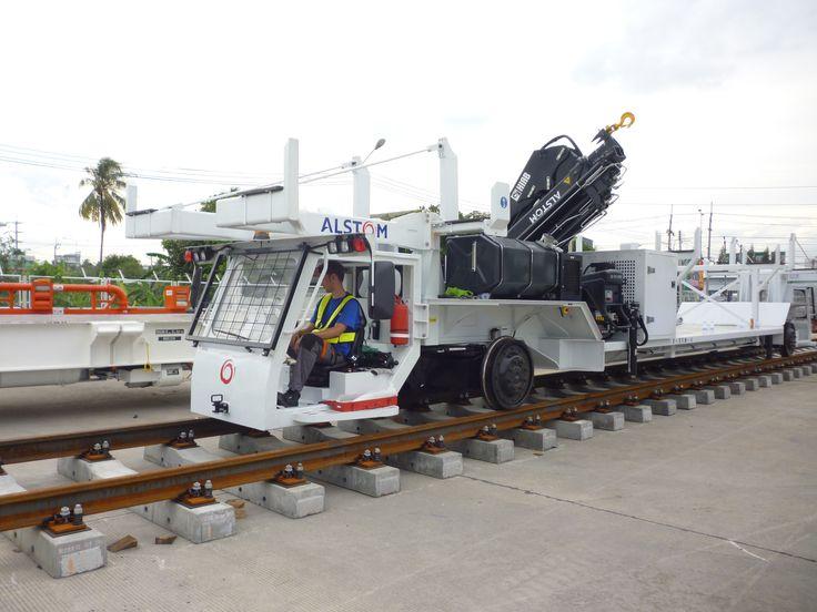 Light Equipment Transport : Best images about vehicles on rails pinterest