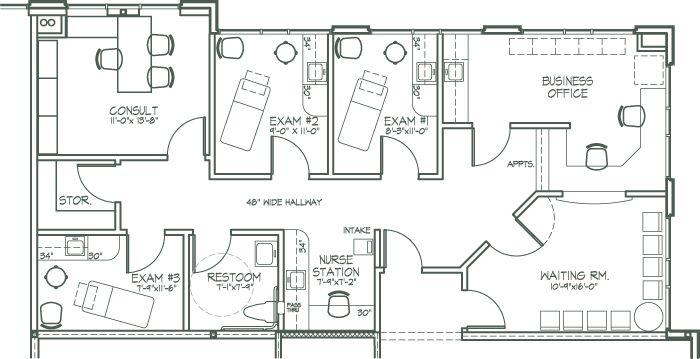 medical office design plan | NEWER (Features) NEARER (Location) NICER (Testimonials) FLOOR PLANS