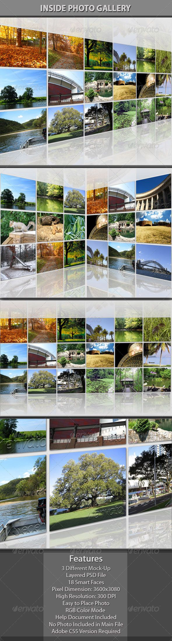 181 best psd photo templates images on pinterest font logo inside photo gallery 3d photopsd templateswall pronofoot35fo Choice Image