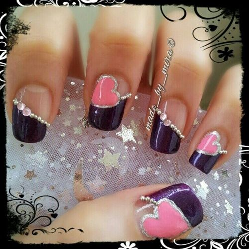 32 Valentine's Day Nail Art Ideas That Will Put You In The Mood For Love   World inside pictures