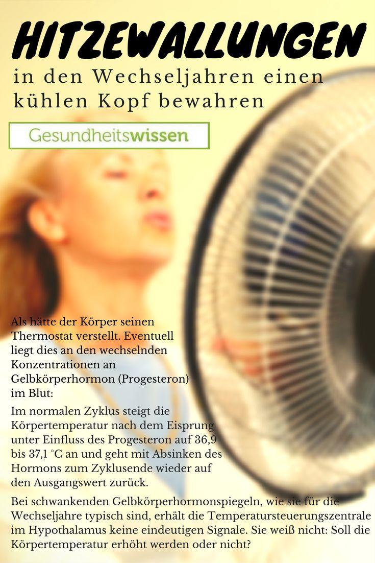 Hitzewallungen Gelten Als Typische Wechseljahrssymptome. Sehr Viele Frauen  Erkennen An Hitzewallungen Und Plötzlichen Schweißausbrüchen,