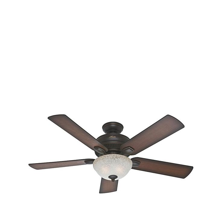 Hunter Matheston Outdoor Ceiling Fan - Black