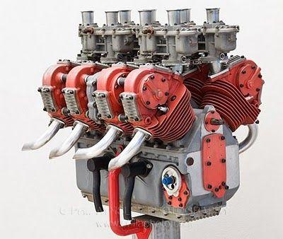 Ducati v8 prototype