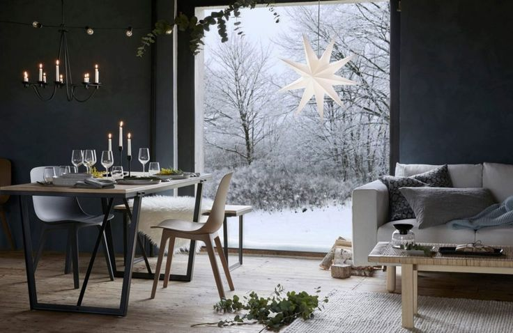 Ikea julen 2017 – stilrent och glittrande i nyanser av grått