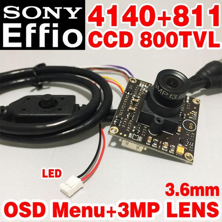 "$18.42 (Buy here: https://alitems.com/g/1e8d114494ebda23ff8b16525dc3e8/?i=5&ulp=https%3A%2F%2Fwww.aliexpress.com%2Fitem%2F1-3-Sony-Effio-e-4140-811-700TVL-2-8mm-Lens-Wide-View-CCD-CCTV-Camera%2F32738849306.html ) Limited 1/3""Sony Sensor CCD Effio-E 4140+811 800tvl Analog cvbs ahdl Finished HD Monitor chip module 3.6mm 3.0mp lens osd menu  for just $18.42"