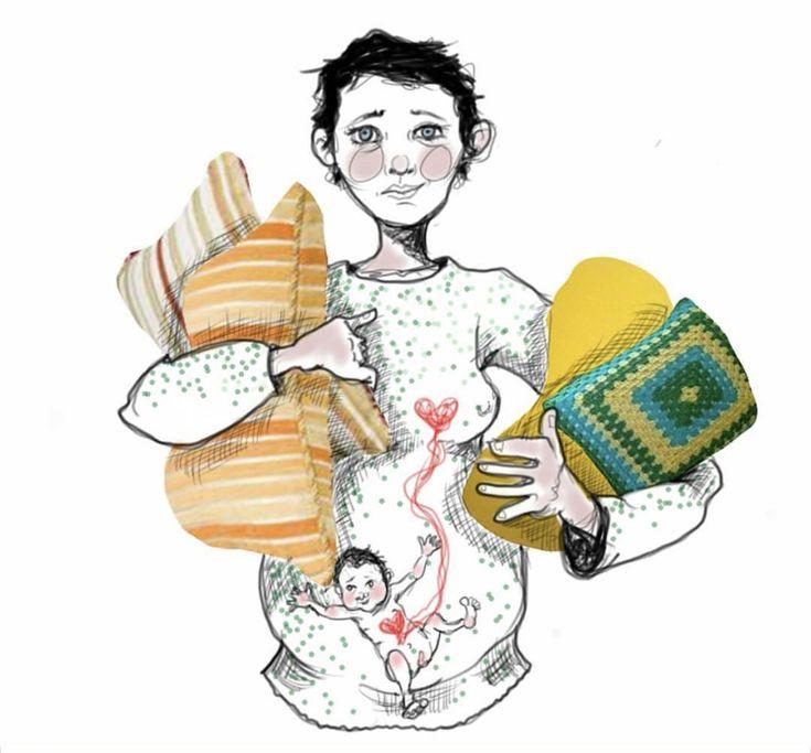 ¿Cómo es el embarazo desde adentro? No te pierdas estas ilustraciones hermosas donde el bebé por nacer es el protagonista.