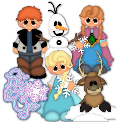 LET IT GO, made to order, premade paper piecing, scrapbook, page, album, border, layout, boy, girl, movie, frozen on Etsy, $24.99