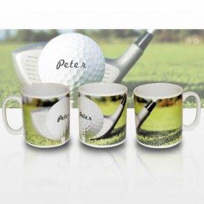 Golf Mug Personalised With Any Name