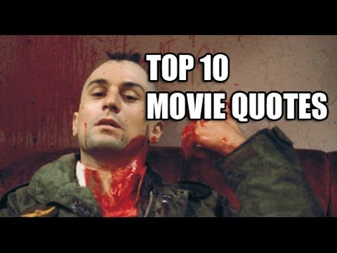 Top 10 Movie Quotes - can you guess what famous film line owns the number 1 spot on our list? #GreatMovies #top10movies