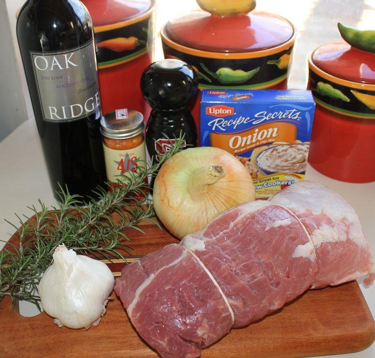 Slow Cooker Boneless Sirloin Pork Roast   Kel's Cafe of All Things Food
