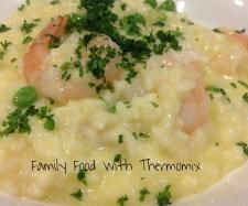 Recipe Prawn and Pea Risotto by Family Food - Recipe of category Pasta & rice dishes
