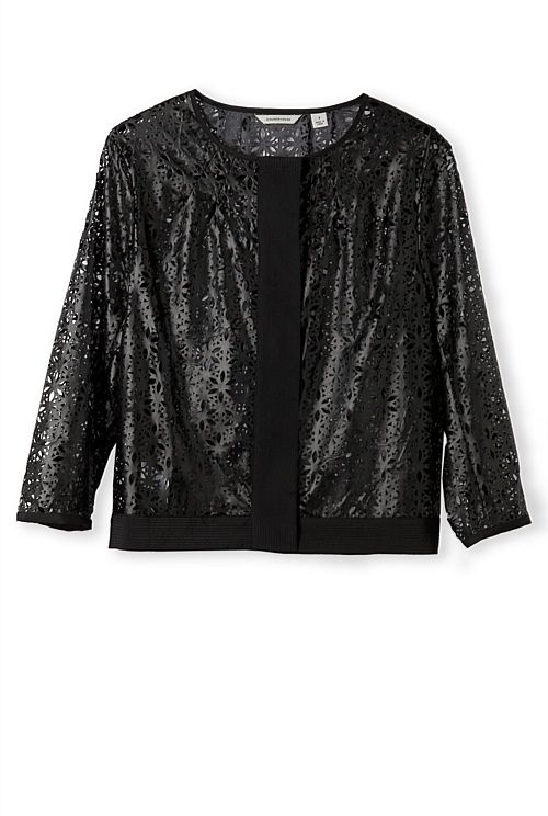 Laser Cut Bomber Country Road: a bit inappropriate, but who's going to argue with someone looking this good? You'll love this jacket at work and home!