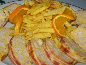 Őzgerincformában sült csirke recept