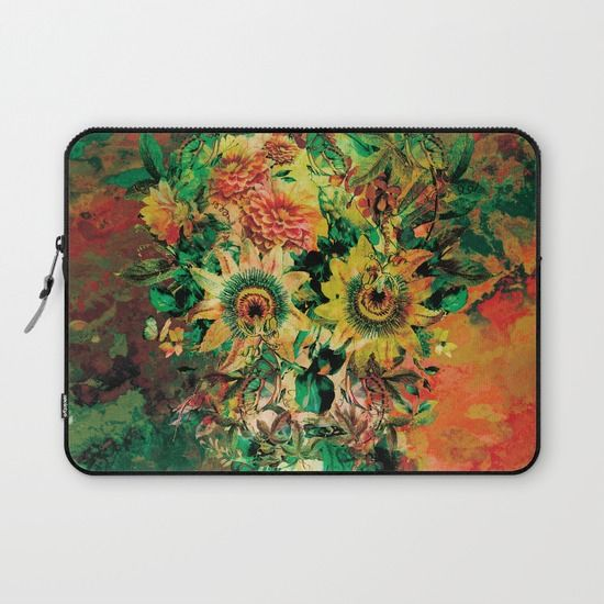Buy SKULL BOTANICA by RIZA PEKER as a high quality Laptop Sleeve. Worldwide shipping available at Society6.com. Just one of millions of products available.