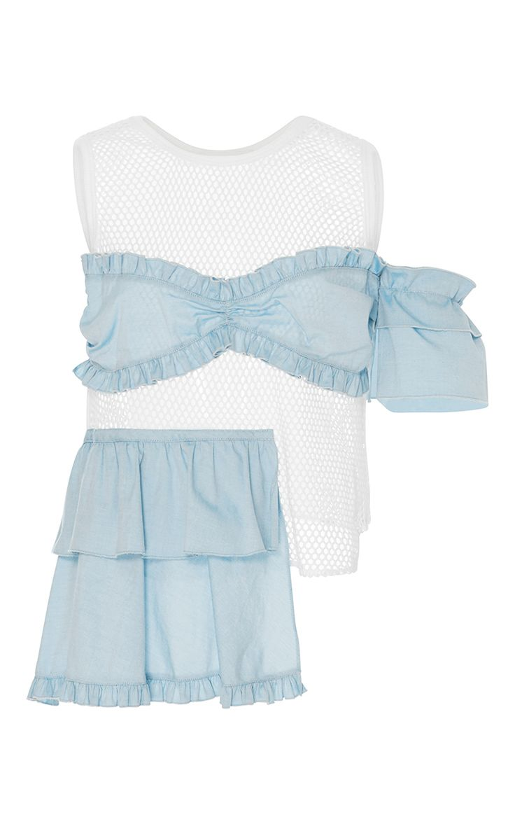 Cromwell Mesh Top by SANDY LIANG for Preorder on Moda Operandi