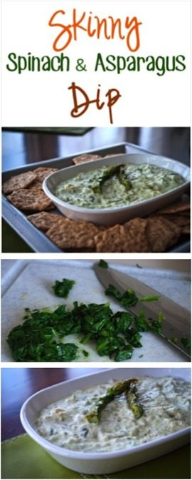 Skinny Spinach Dip Recipe