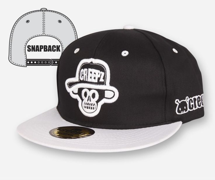 Snapback Big Chimp Black - creepzshop