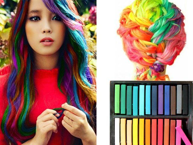 Цветные мелки для волос от ЛОреаль