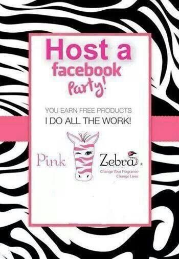 Host a Pink Zebra online party and receive free and half priced goodies!  Contact me at www.missprinkles.com