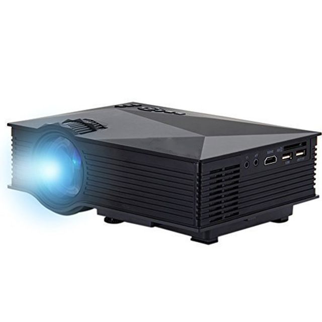 DBPOWER UC46 Multimedia 1200 Lumens WiFi Wireless Portable LCD LED Home Theater Projector Support 1080P With IR/USB/SD/HDMI/VGA US $78.69 /piece To Buy Or See Another Product Click On This Link  http://goo.gl/EuGwiH