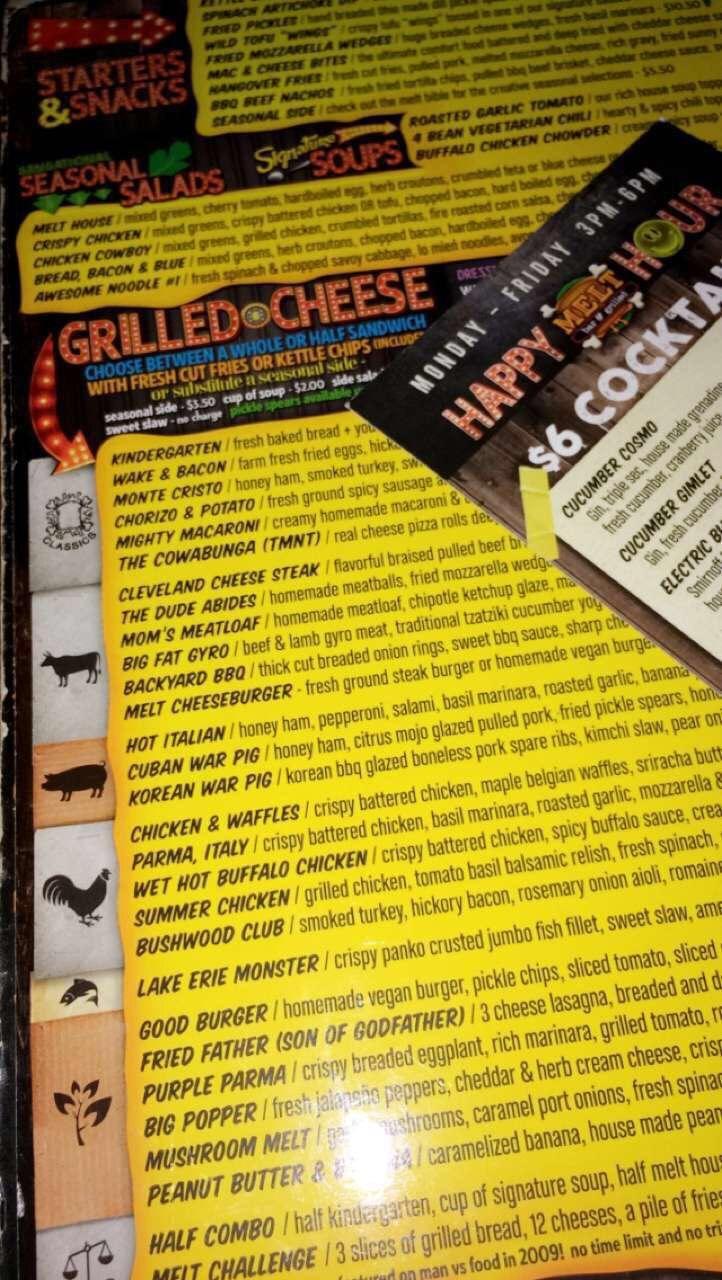 dating menu