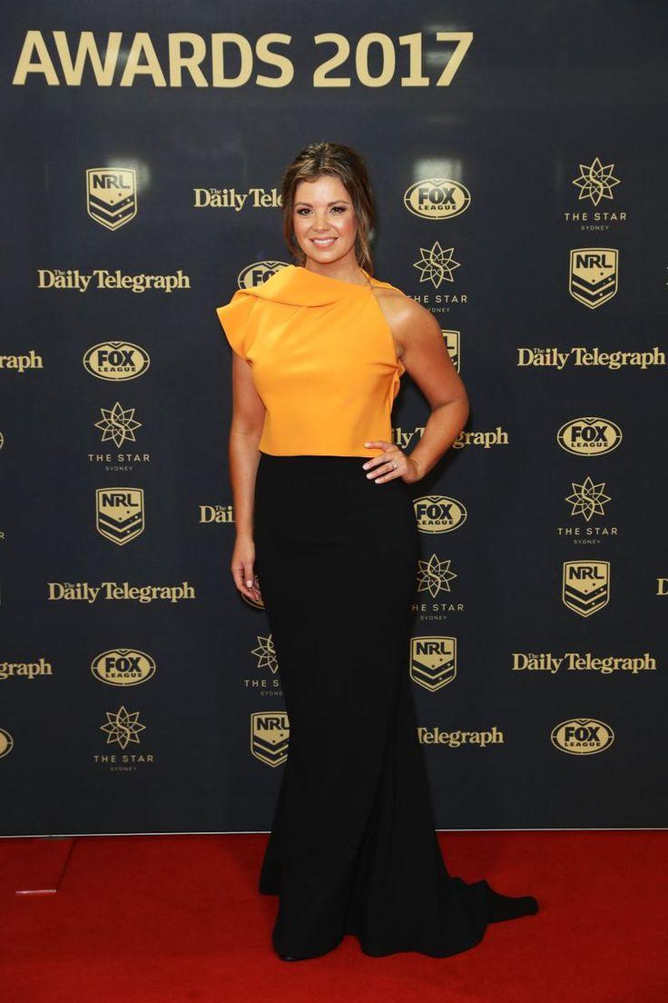 Fox Sports presenter Yvonne Sampson Red carpet fashion