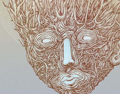 """Check out new work on my @Behance portfolio: """"Masks project: No.20"""" http://be.net/gallery/54187741/Masks-project-No20"""