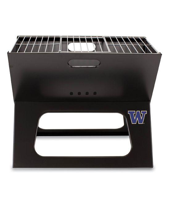 Washington Huskies X-Grill Portable Charcoal Grill