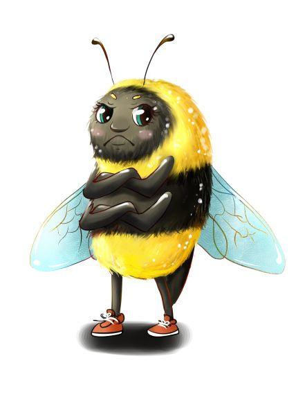 Upset Bee