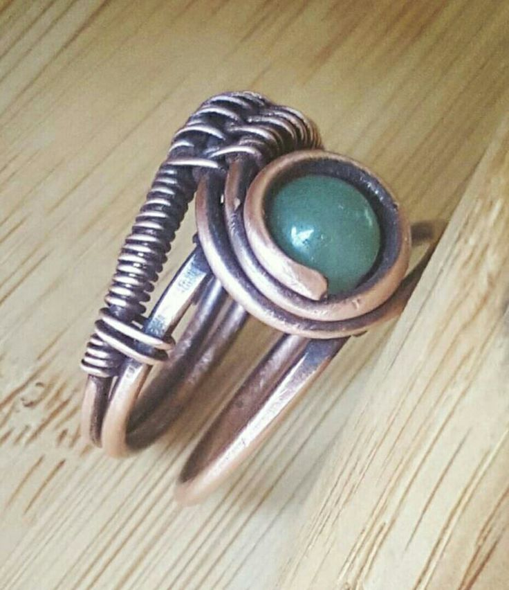 The 637 best rings images on Pinterest | Wire wrapping, Wire ...