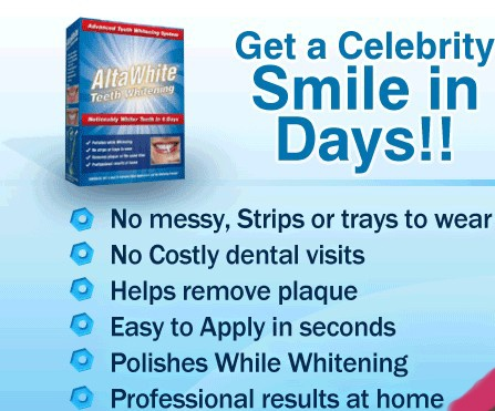 How to whiten teeth at home with #Alta White Teeth #Whitening?