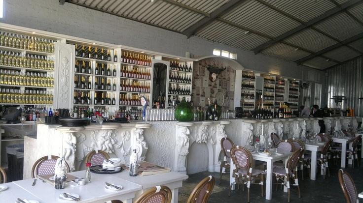 The breathtaking bar @ The Grand Beach Cafe - Granger Bay