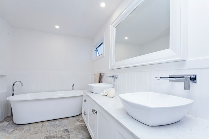 Living Green Designer Homes' interior - beautiful new bathroom #LivingGreenDesignerHomes #interior #design #greenliving #sustainable #home