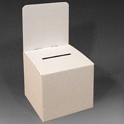 Large Suggestion Box - Cardboard  displays2go.com